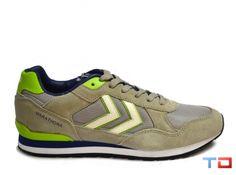 Hummel Marathona Lo Dove Grey | T.D Footwear