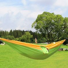 15 Color 2 people Hammock 2016 Camping Survival garden hunting Leisure travel Double Person Portable Parachute Hammocks