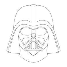 Resultado de imagen para darth vader mask draw