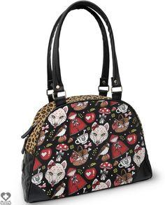 Little Red Bowler Handbag - LIQUORBRAND