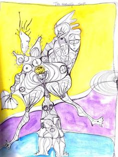 The Elaborate Self - An Expressive Art Journaling e-course.