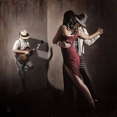 The passion - Argentinian Tango Tango Dancers, Ballet Dancers, Dance Photography Poses, Couple Painting, Swing Dancing, Slow Dance, Dance Humor, Night Couple, Salsa Dancing