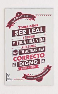 2- Lealtad.#reflexiones #infografia