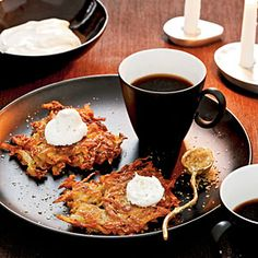 Potato-Apple Latkes Recipe