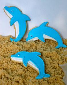 Jesicakes: Ocean Themed Decorated Sugar Cookies