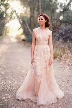 Wholesale red wedding dresses, sexy wedding dress and vintage wedding dress on DHgate.com are fashion and cheap. The well-made 2018 cheap country a line wedding dresses v neck full lace appliques blush pink champagne long sweep train reem acra formal bridal gowns sold by haiyan4419 is waiting for your attention. #redweddingdresses #vintageweddingdresses