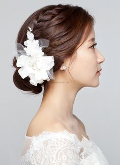 Image result for hair updo with chopsticks or mandarin brocade
