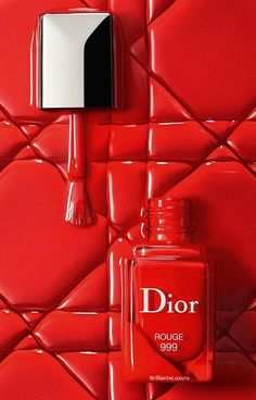 Dior Vernis - Nägel - Make-up Dior, Nail Polish, Make Up, Neon Signs, Cosmetics, Nails, Red, Blazer, Beauty