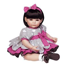 "Lifelike Realistic Reborn Handmade Vinyl 20"" Toddler Girl Doll Play Toy by Adora #Adora #DollswithClothingAccessories"