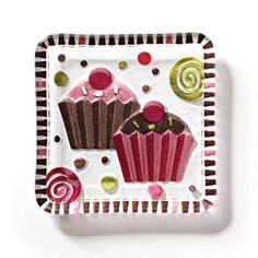 Cupcake Snack Plate