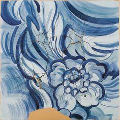 Obra de Adriana Varej�o no leil�o 26 de Abril de 2012 da Bolsa de Arte