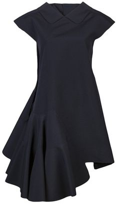 comme des garcons Angle Dress - Lyst; i'm sure this would look looney on me, but the quality and design of this line is just crazy, and I know basically Nothing about clothes yet it knocks me out.