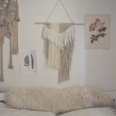 The Fringe Wall Hanging looking lovely in @sara_waiste beautiful home  Also the shop has been updated and some items are back! Check it out <<<link in profile>>>