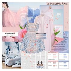 """""""Rose quartz and serenity~"""" by mirmin ❤ liked on Polyvore featuring Paul Smith, Valentino, women's clothing, women's fashion, women, female, woman, misses, juniors and pantone2016"""