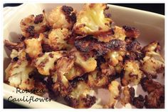 Roasted Cauliflower!