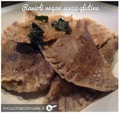Ravioli vegan senza glutine