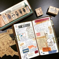 Week 11 layout . . . . #travelersnotebook #midoritravelersnotebook #travelersnotebookmalaysia #travelersfactory #travelerscompany #journal #journaling #journaladdict #planneraddict #planneraddictmalaysia #plannercommunity #rubberstamp #chamilgarden #toolstoliveby #versafine #classiky #cavallini #maste  #tokyoantique #stationery #stationerylove #stationeryaddict #washitape #reetjournals