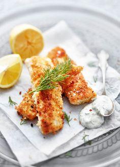 Kermaviilikastike on ainakin kalapuikkojen kaveri. Seafood Recipes, Wine Recipes, Just Eat It, Fish And Seafood, Fine Dining, Bon Appetit, I Foods, Chicken Wings, Food Inspiration