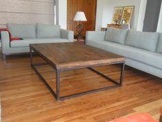 $2200 Mesa Hierro Y Madera Decor, Furniture, Interior, Furniture Decor, Indoor Furniture, Home Decor, Industrial Table, Home Deco, Country Furniture
