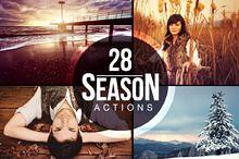 28 Season Actions (ps), TomAnders 8usd | Creative Market Cs3+