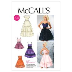 Mccall Pattern M6646 8-10-12-14-Mccall Pattern