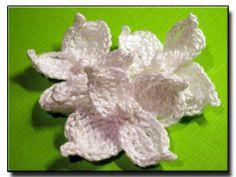 CROCHET PATTERNS (Crochet Flower Pattern #147 Oakleaf Hydrangea) -Crochet & Knit Design Heaven