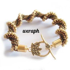 Loving this Cellini Spiral Bracelet. Nice metallic bronze/gold color palette. Perfect clasp choice, too..