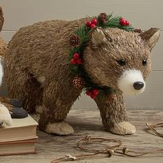 Bristle Bear Decoration