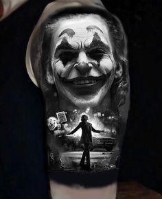 33 cool joker tattoos you& love - - 33 cool joker tattoos you& love . - 33 cool joker tattoos you& love – – 33 cool joker tattoos you& love – – - Joker Tattoos, Clown Tattoo, Bad Tattoos, Girl Tattoos, Sleeve Tattoos, Tattoos For Guys, Tasteful Tattoos, Cute Small Tattoos, Small Tattoo Designs