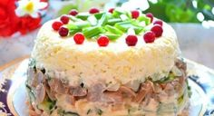 Chicken salad with eggs and mushrooms — Cooking Recipes Eggs And Mushrooms, Stuffed Mushrooms, Marinated Mushrooms, Top Salad Recipe, Chicken Egg Salad, Recipe Chicken, Chicken Recipes, Food Network Recipes, Cooking Recipes