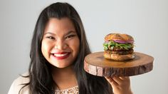 Recipe with video instructions: If you've never been keen on quinoa, this cheesy burger may convert you. Satisfy your burger cravings with this…