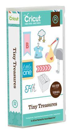 Cricut Cartridge Tiny Treasures Brand New by Hope2Create on Etsy, $45.00