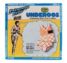 princess leia underoos.  I wanted wonder woman but ended up with princess leia.