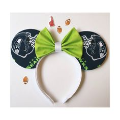 Seattle Seahawks Mouse Ears by ShopHouseOfMouse on Etsy
