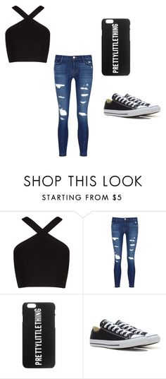 """""""Untitled #2"""" by aleschmitz-reed on Polyvore featuring BCBGMAXAZRIA, J Brand and Converse"""