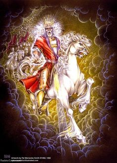 The Return of Jesus Christ to Earth; The Second Coming of Jesus Christ; King of Kings Revelation 19 11, Revelation Study, Jesus Second Coming, Jesus Return, Pictures Of Jesus Christ, Prophetic Art, Biblical Art, King Of Kings, King King