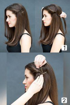 Mesmo na pressa, é possível deixar o cabelo arrumado!