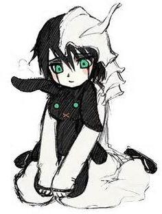 ulquiorra chibi anime bleach - omg this is so cute ı just died. ım still writing but dead. Bleach Orihime, Ulquiorra And Orihime, Bleach Manga, I Love Anime, Awesome Anime, Anime Guys, Anime Chibi, Anime Manga, Anime Art