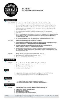 Graphic Design Resume  Cv  Graphic Designs    Graphic