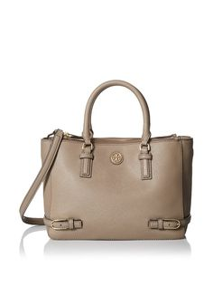 awesome Tory Burch Robinson Small Multi Tote French Gray