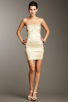 Wow Couture Luxe Strapless Bandage Dress on HauteLook