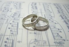 My very first rings, sterling silver. Not for sale