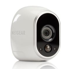 Netgear Arlo Smart Home Add-On Indoor Outdoor HD Security Camera, White