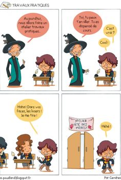 À Poudlard / At Hogwarts - Harry Potter Parody: Travaux pratiques / Arts and crafts Harry Potter Disney, Harry Potter Anime, Humour Harry Potter, Harry Potter Parody, Harry Potter Facts, Harry Potter Quotes, Harry Potter World, Harry Potter Universal, Gravity Falls