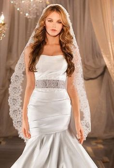 long wedding hair down with veil - Google Search