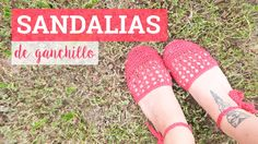 Sandalias de ganchillo fáciles | Crochet sandals