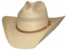 Bullhide Bucky Shantung Panama Hat