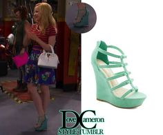"""Dove (as Liv) wore these EXACT wedges in Liv & Maddie """"Muffler-A-Rooney""""ModCloth Ice Cream Social Butterfly WedgeSold out"""