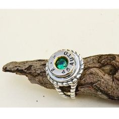 BIRTHSTONE BULLET RING