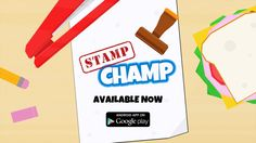 Do you have what it takes to be the next Stamp Champ? Test your stamping skill in this addictive mobile game! Unlock unique stamps and add them to your collection. Earn trophies to display on your desk. Master the art of stamping and become the Stamp Champ!  Read more: http://forums.indiegamemag.com/showthread.php/4208-FREE-Stamp-Champ#ixzz3IhUZ9XDM  Follow us: @DjDoubt03 on Twitter